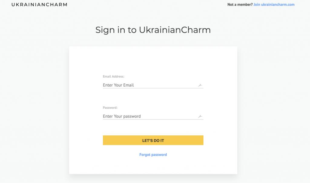 UkrainianCharm.com - international dating sites