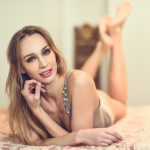 Russian Beautiful blonde woman
