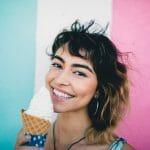 smiling Latina girl