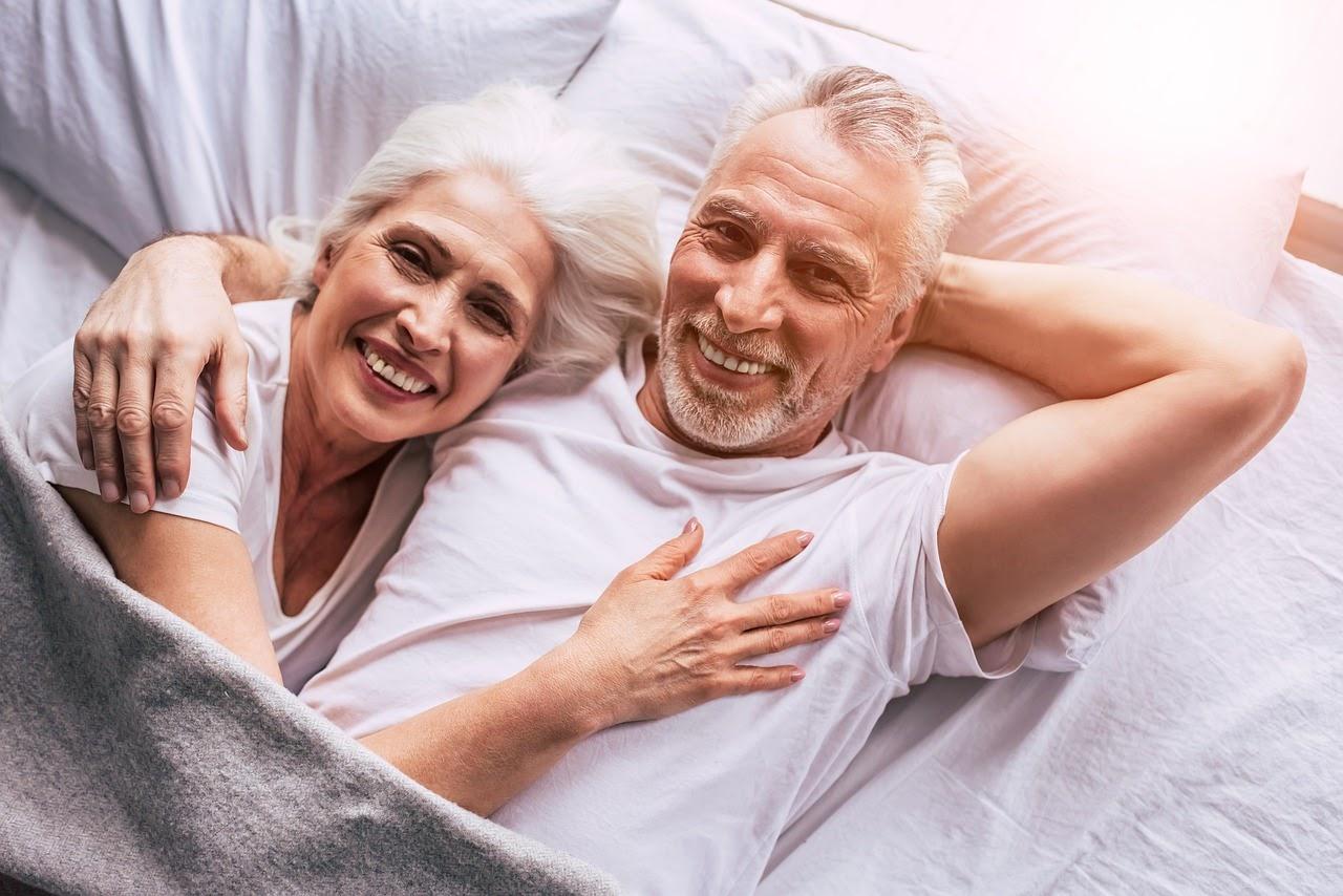 senior couple Over 60